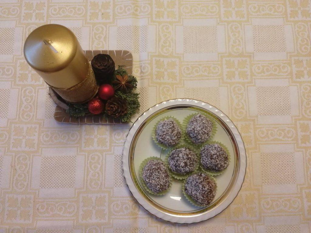 kokosové guľky