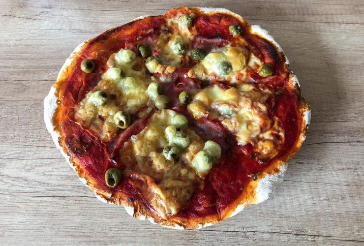 bezlepková pizza recept