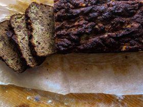 banánový chlebík