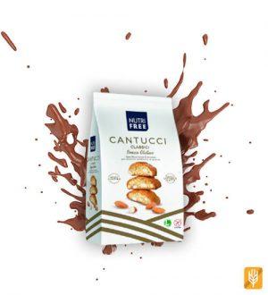 bezlepkové Cantucci - mandľové sušienky