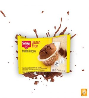 bezlepkový čokoládový muffin Schär