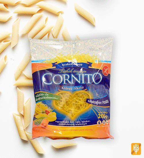 bezlepkové polievkové tenké rezance - cestoviny Cornito