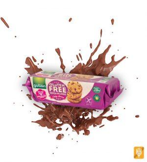 bezlepkové choco chips - cookies - Gullón