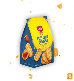 Crisp Rolls - sucháre švédskeho typu - Petit Crisp Skorpor - Schär